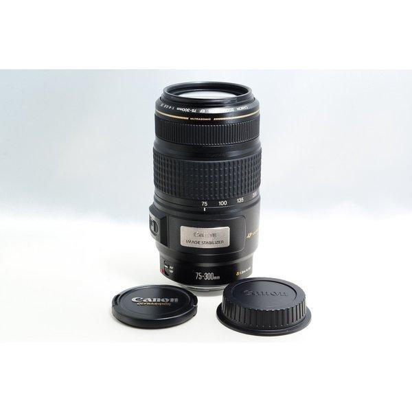 キヤノン CANON EF 75-300mm F4-5.6 IS USM 美品 超望遠 ズーム 交換レンズ