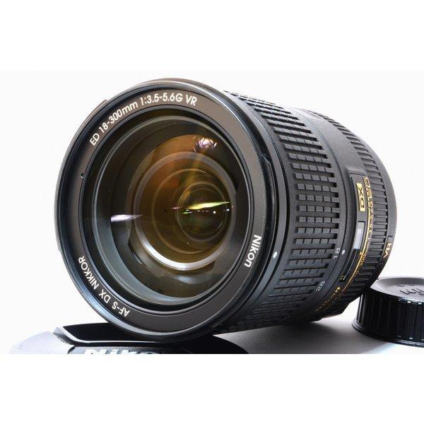 ニコン NIKON AF-S DX NIKKOR 18-300mm f/3.5-6.3G ED VR 美品 望遠 超高倍率ズームレンズ 交換レンズ