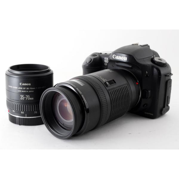 キヤノン Canon EOS 10D ダブルズームセット 美品 ストラップ付き