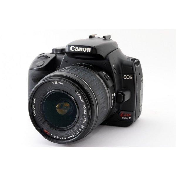キヤノン Canon EOS Kiss Digital X レンズキット★美品★一眼レフ初心者オススメのセット <プレゼント包装承ります>
