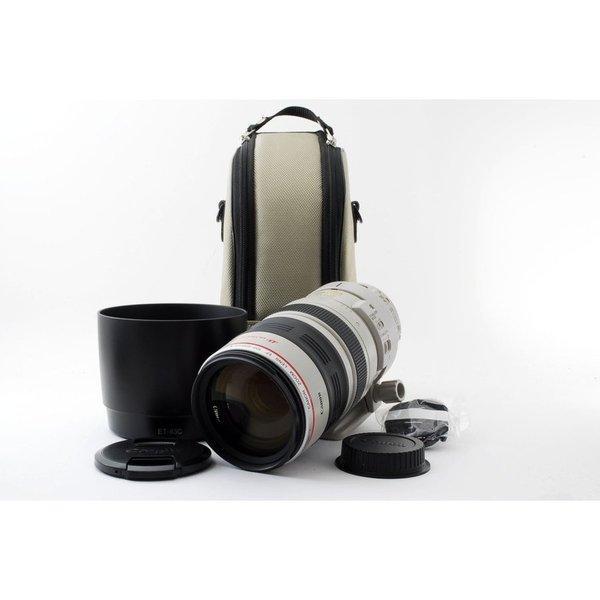 Canon EF 100-400mm F4.5-5.6L IS USM レンズ★極上美品★フード、三脚座、ケース付き♪