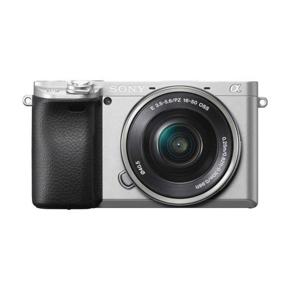 SONY ソニー ミラーレス一眼カメラ α6400 パワーズームレンズキット (ILCE-6400L S) シルバー|camera-no-ohbayashi