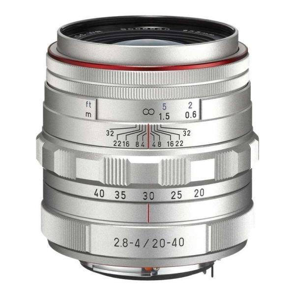 ペンタックス HD PENTAX-DA 20-40mm F2.8-4 ED Limited DC WR シルバー 標準ズームレンズ