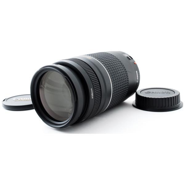 交換レンズ 中古 Canon キヤノン 望遠レンズ EF 75-300mm III USM フルサイズ デジタル一眼レフカメラ