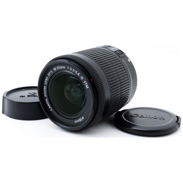 標準レンズ Canon キャノン 中古 EF-S 18-55mm IS STM デジタル一眼レフカメラ 交換レンズ