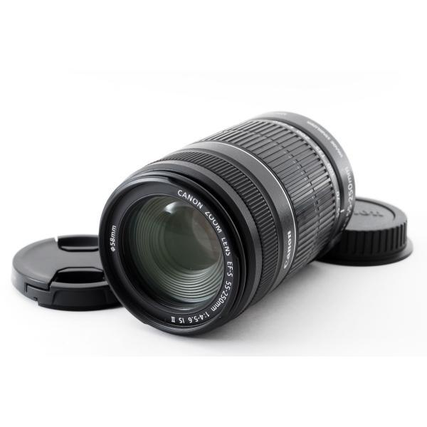 Canon キヤノン 望遠レンズ 中古 EF-S 55-250mm IS II 手振れ補正 デジタル一眼レフ 交換レンズ