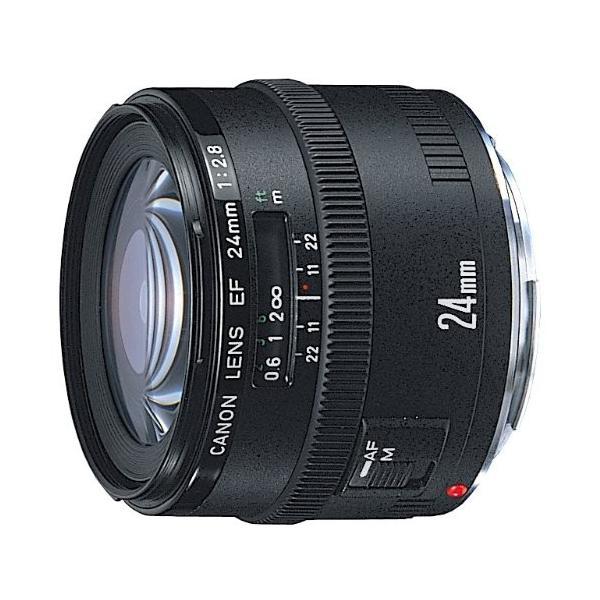 交換レンズ  Canon キヤノン EF 24mm F2.8 フルサイズ対応