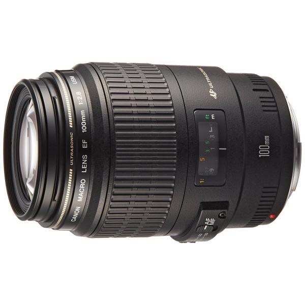 交換レンズ 中古 Canon キヤノン EF 100mm F2.8 マクロ USM フルサイズ対応|cameracantik