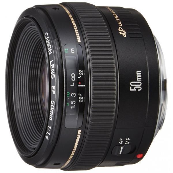 交換レンズ 中古 Canon キヤノン EF 50mm F1.4 USMフルサイズ対応|cameracantik