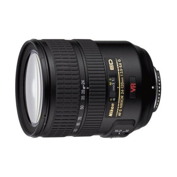 標準レンズ Nikon ニコン 中古 AF-S VR ED 24-120mm F3.5-5.6G 手振れ補正 交換レンズ
