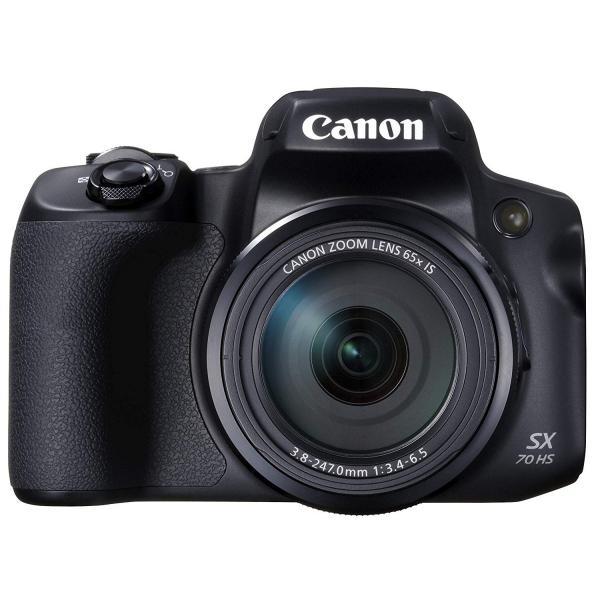 デジタルカメラ 中古 Canon キャノン PowerShot SX70 HS ブラック 本体|cameracantik