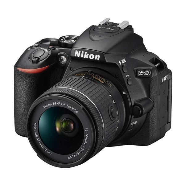 一眼レフ  Nikon ニコン D5600 ブラック 18-55mm VR レンズキット