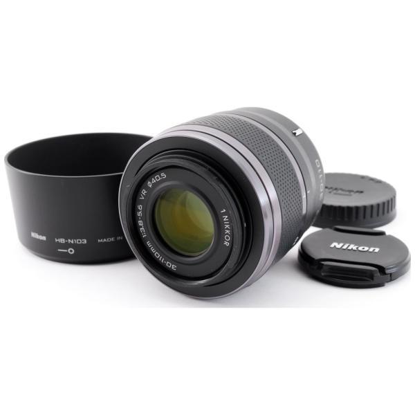 望遠レンズ Nikon ニコン 中古 1 NIKKOR VR 30-110mm F3.8-5.6 ブラック 手振れ補正 ミラーレス一眼対応