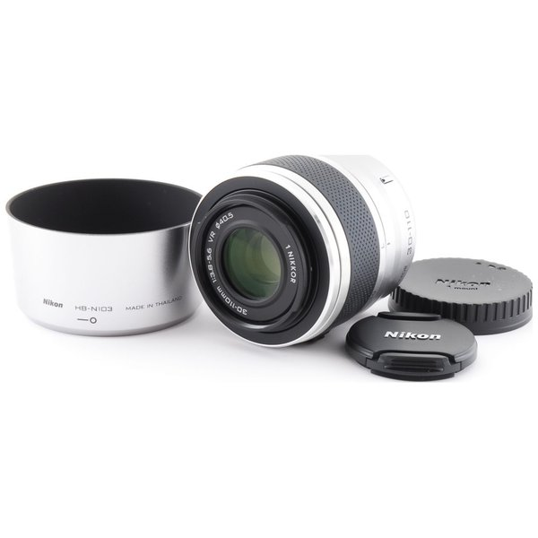 Nikon ニコン 望遠レンズ 中古 1 NIKKOR VR 30-110mm F3.8-5.6 シルバー 手振れ補正