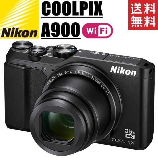 ニコン nikon COOLPIX A900 Wi-Fi搭載 光学35倍ズーム