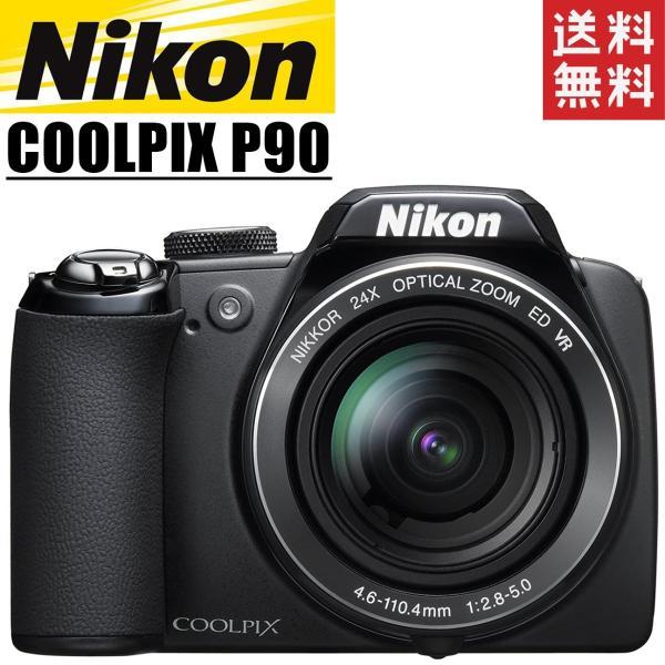 ニコン Nikon COOLPIX P90 クールピクス 24倍ズームレンズ搭載 デジタルカメラ