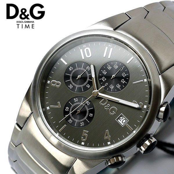 D&G ドルチェ&ガッバーナ ドルガバ サンドパイパー クロノグラフ メンズ 腕時計 3719770123|cameron