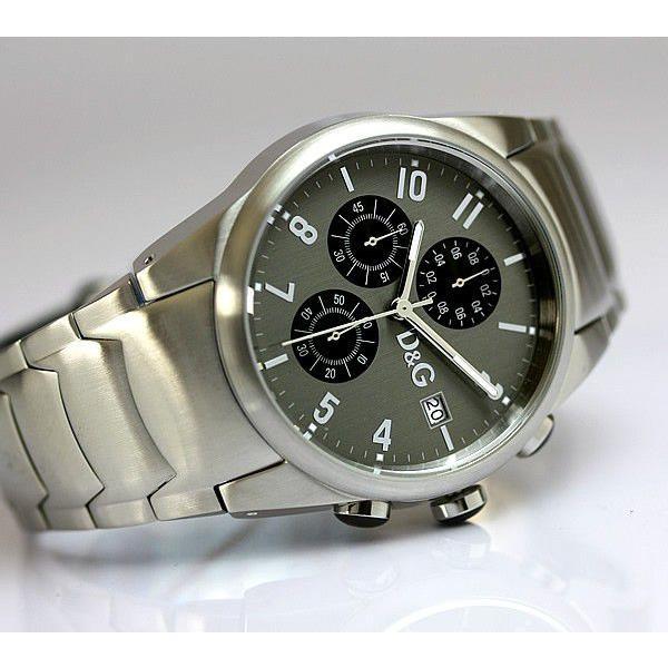 D&G ドルチェ&ガッバーナ ドルガバ サンドパイパー クロノグラフ メンズ 腕時計 3719770123|cameron|03