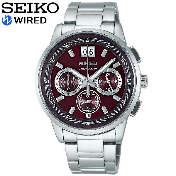 セイコー SEIKO クロノグラフ ワイアード メンズ 腕時計  国内正規品|cameron