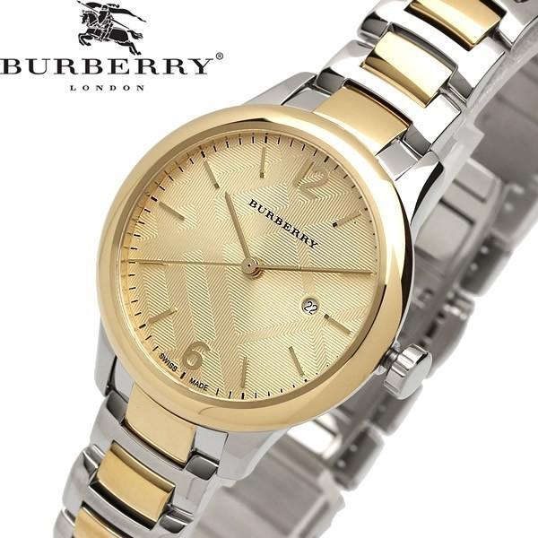 エントリーでP10倍 BURBERRY バーバリー 腕時計 ウォッチ レディース クオーツ 5気圧防水 デイトカレンダー ステンレス スイス製 bu10118