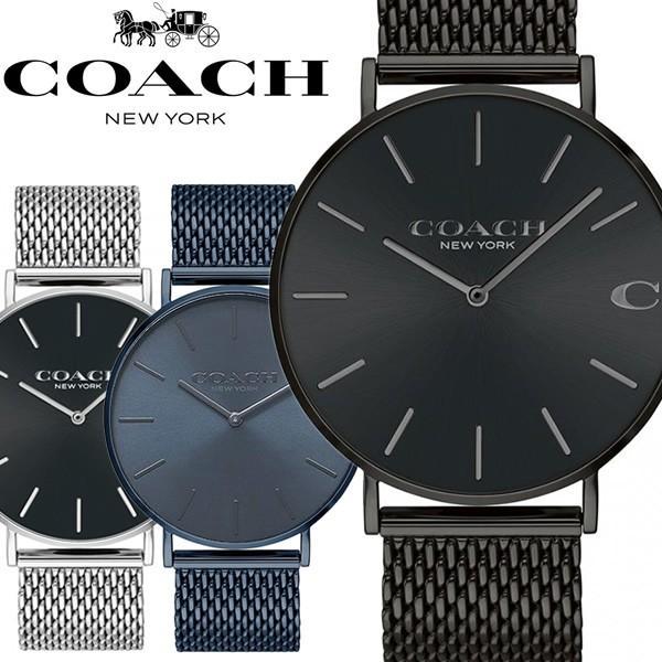 ddfb3cfcb897 エントリーでP10倍 COACH コーチ 腕時計 メンズ ウォッチ メッシュベルト シンプル ブランド 時計 人気 CHARLES
