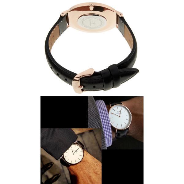 Daniel Wellington ダニエルウェリントン 腕時計 メンズ 40mm 本革レザー Classic クラシック 人気 ブランド|cameron|03