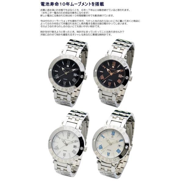 ペアウォッチ フォーエバー メンズ レディース 腕時計 10年電池 ブランド 人気 カップル|cameron|03