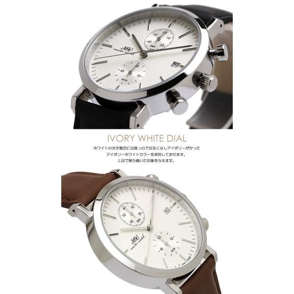 マスターウォッチ 日本製 メンズ腕時計 クロノグラフ 革ベルト クロノグラフ腕時計 メイドインジャパン 父の日 ギフト|cameron|05