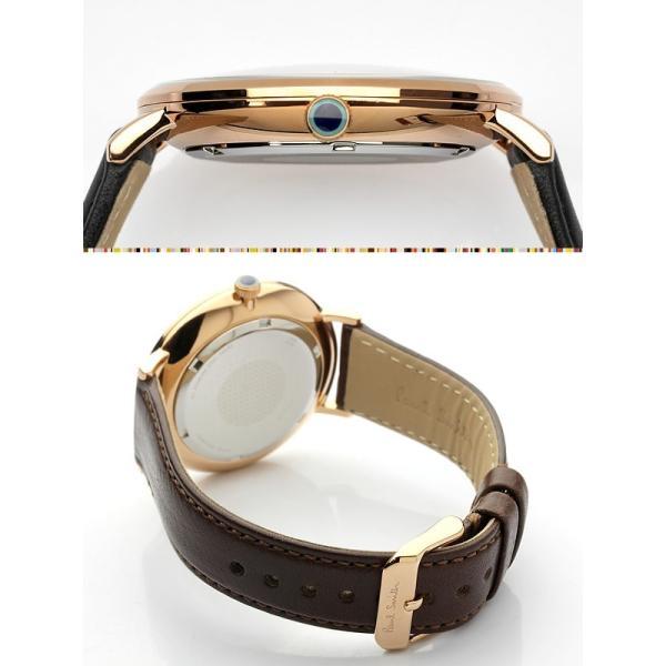dd68b38d922b ... ポールスミス Paul Smith 腕時計 ペアウォッチ メンズ レディース TRACK 42mm 革ベルト 本革 ブランド ...