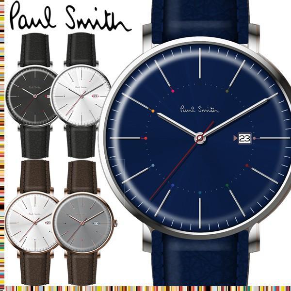 3f121efc95 エントリーでP10倍 ポールスミス Paul Smith 腕時計 メンズ 革ベルト Track 42mm ブランド 人気 ...