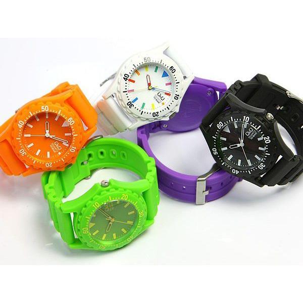 シチズン Q&Q カラフルウォッチ メンズ レディース 腕時計 10気圧防水 ダイバーズデザイン キッズ 子供|cameron|02
