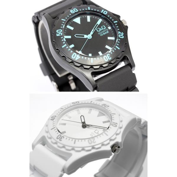 シチズン Q&Q カラフルウォッチ メンズ レディース 腕時計 10気圧防水 ダイバーズデザイン キッズ 子供|cameron|03