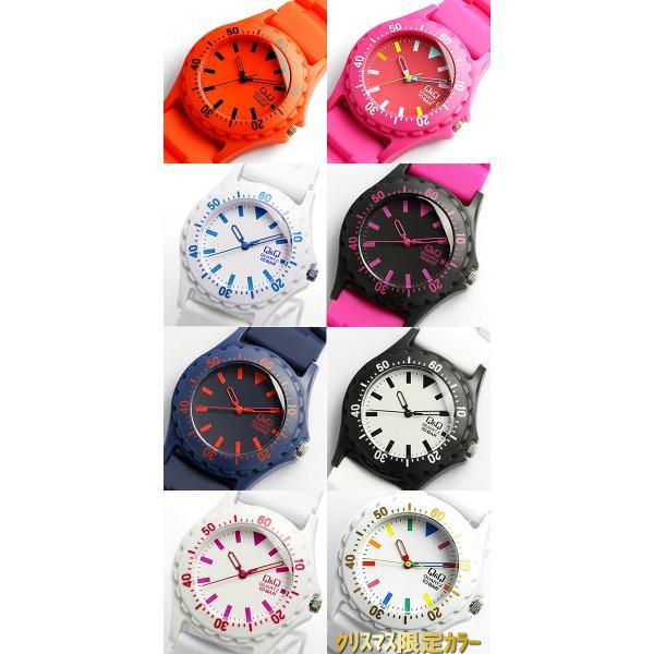 シチズン Q&Q カラフルウォッチ メンズ レディース 腕時計 10気圧防水 ダイバーズデザイン キッズ 子供|cameron|05