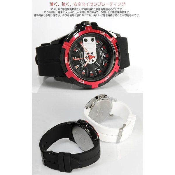 シチズン Q&Q 腕時計 海外限定モデル ラバー メンズ 立体インデックス|cameron|03