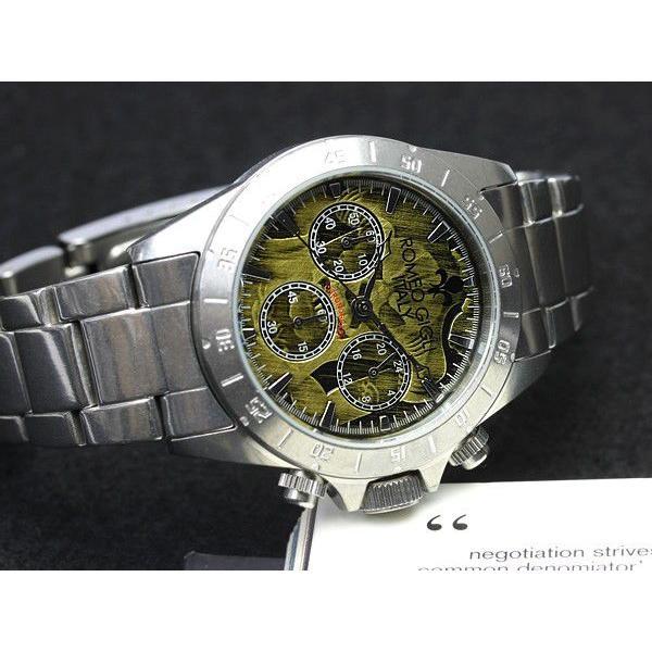 ROMEO GIGLI ロメオジリ 腕時計 メンズ クロノグラフ アンティーク ステンレス|cameron|03