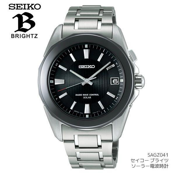 55951bf5b3 セイコー(SEIKO) 腕時計 メンズ ブライツ ソーラー電波時計 セイコー SEIKO SAGZ041 10気圧防水 ...