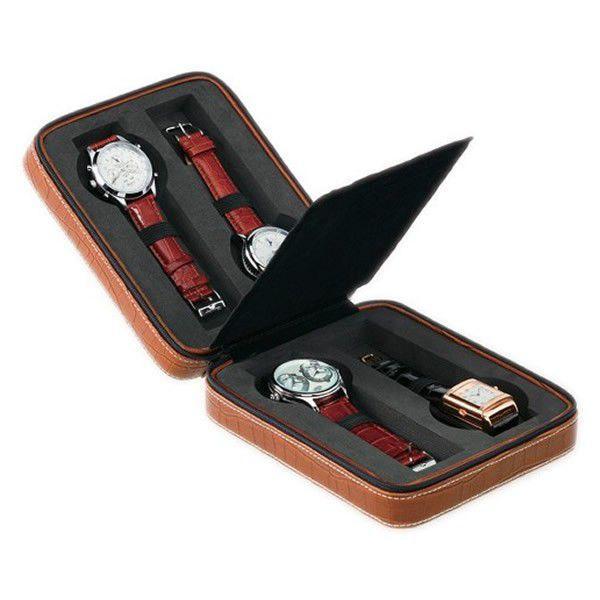 エントリーでP10倍 腕時計/ケース/腕時計/時計ケース/レザー/ クロコ柄/腕時計/携帯ケース