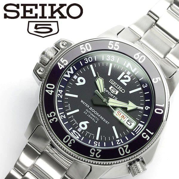 セイコーSEIKO日本製ダイバーズウォッチ自動巻きメンズ腕時計ダイバーズSKZ209J1