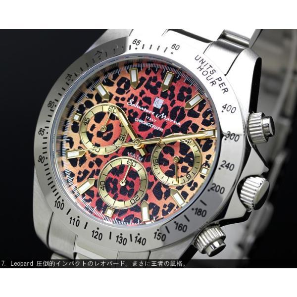 サルバトーレマーラ  クロノグラフ 腕時計 メンズ 限定モデル 10気圧防水 ブランド 人気 SM-11125 父の日 ギフト|cameron|05