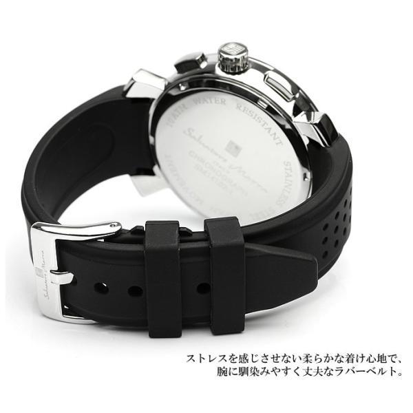 エントリーでP5倍 サルバトーレマーラ 腕時計 メンズ クロノグラフ 立体 限定モデル ラバー ブランド 流行 人気  10気圧防水 ギフト|cameron|12