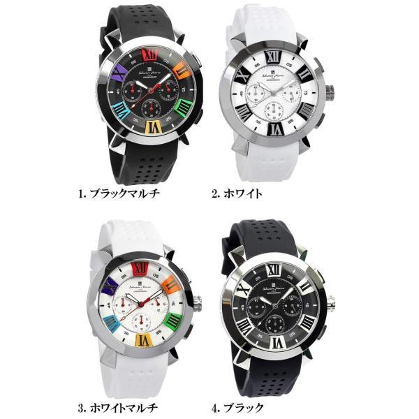 エントリーでP5倍 サルバトーレマーラ 腕時計 メンズ クロノグラフ 立体 限定モデル ラバー ブランド 流行 人気  10気圧防水 ギフト|cameron|13