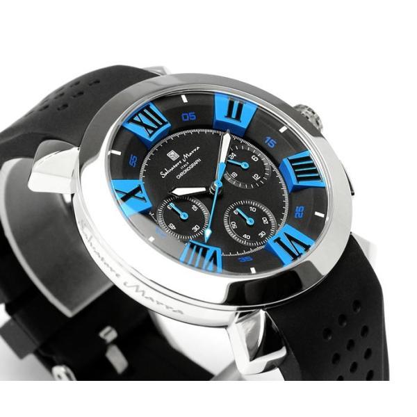エントリーでP5倍 サルバトーレマーラ 腕時計 メンズ クロノグラフ 立体 限定モデル ラバー ブランド 流行 人気  10気圧防水 ギフト|cameron|04