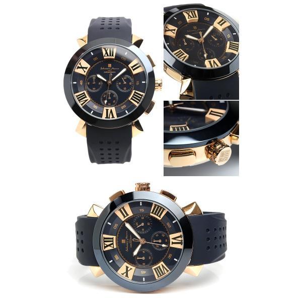 エントリーでP5倍 サルバトーレマーラ 腕時計 メンズ クロノグラフ 立体 限定モデル ラバー ブランド 流行 人気  10気圧防水 ギフト|cameron|07
