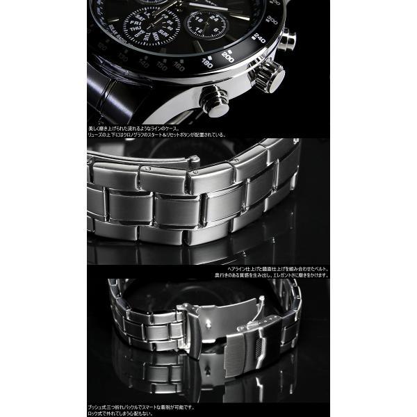 電波ソーラー 腕時計 メンズ クロノグラフ 限定モデル ブランド 人気 セール サルバトーレマーラ|cameron|06