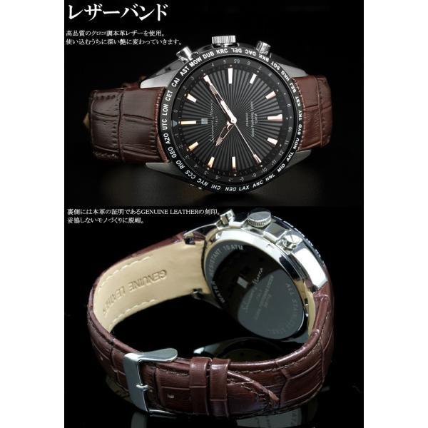 エントリーでP5倍 サルバトーレマーラ GPS 衛星電波時計 電波 腕時計 メンズ ブランド 限定モデル SM17118 cameron 11