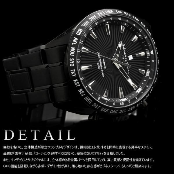エントリーでP5倍 サルバトーレマーラ GPS 衛星電波時計 電波 腕時計 メンズ ブランド 限定モデル SM17118 cameron 04