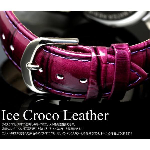 エントリーでP5倍 サルバトーレマーラ 腕時計 メンズ クロノグラフ 革ベルト カットガラス アイスクロコレザー 流通限定モデル|cameron|07