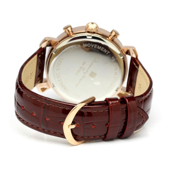 エントリーでP5倍 サルバトーレマーラ 腕時計 メンズ クロノグラフ 革ベルト カットガラス アイスクロコレザー 流通限定モデル|cameron|08