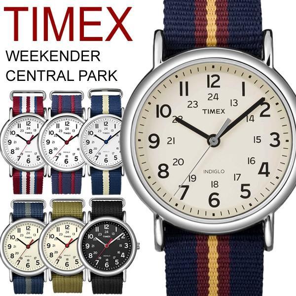 タイメックス ウィークエンダー メンズ レディース 腕時計 TIMEX WEEKENDER CENTRAL PARK T2N747|cameron