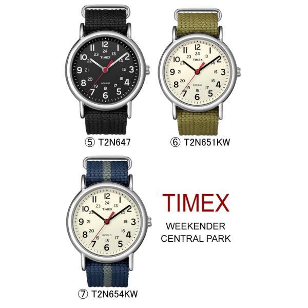 タイメックス ウィークエンダー メンズ レディース 腕時計 TIMEX WEEKENDER CENTRAL PARK T2N747|cameron|06